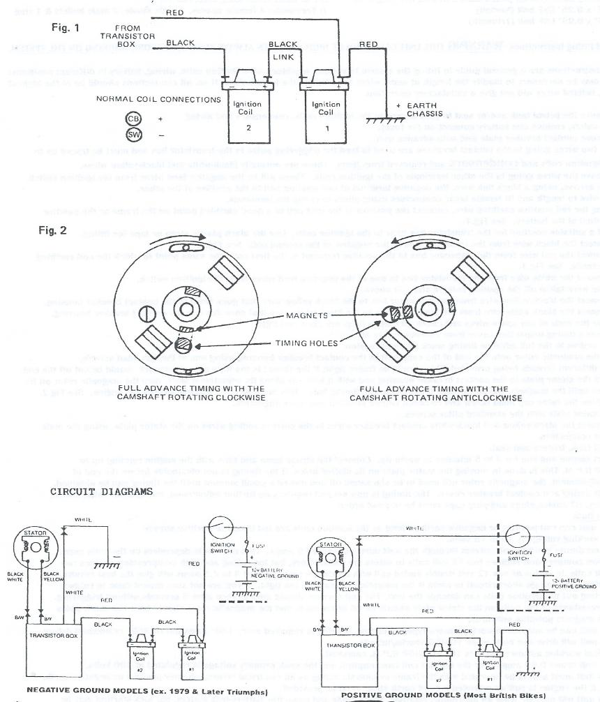 Boyer Ignition Systems on triumph 5t wiring diagram