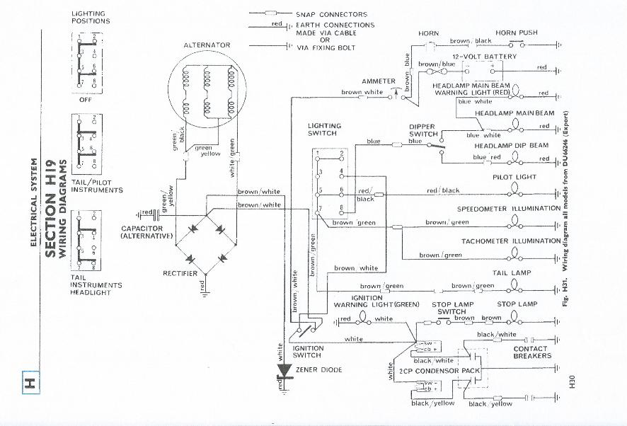 Triumph 5t Wiring Diagram