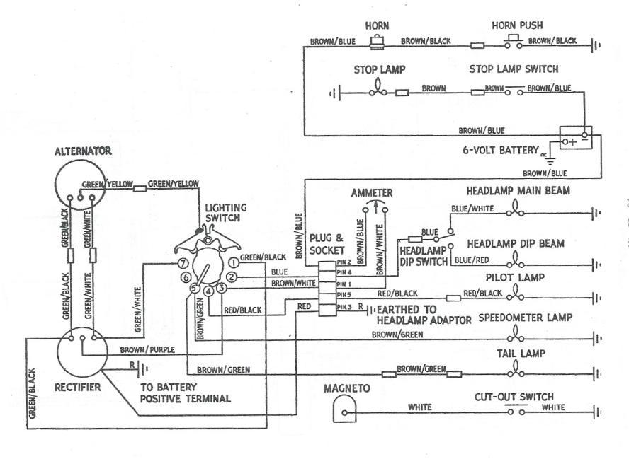 1978 t140 wiring diagram terry macdonald  terry macdonald