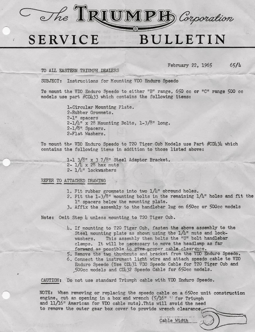 Terry Macdonald 1969 Triumph Bonneville Engine Diagram Vdo Speedo Mount