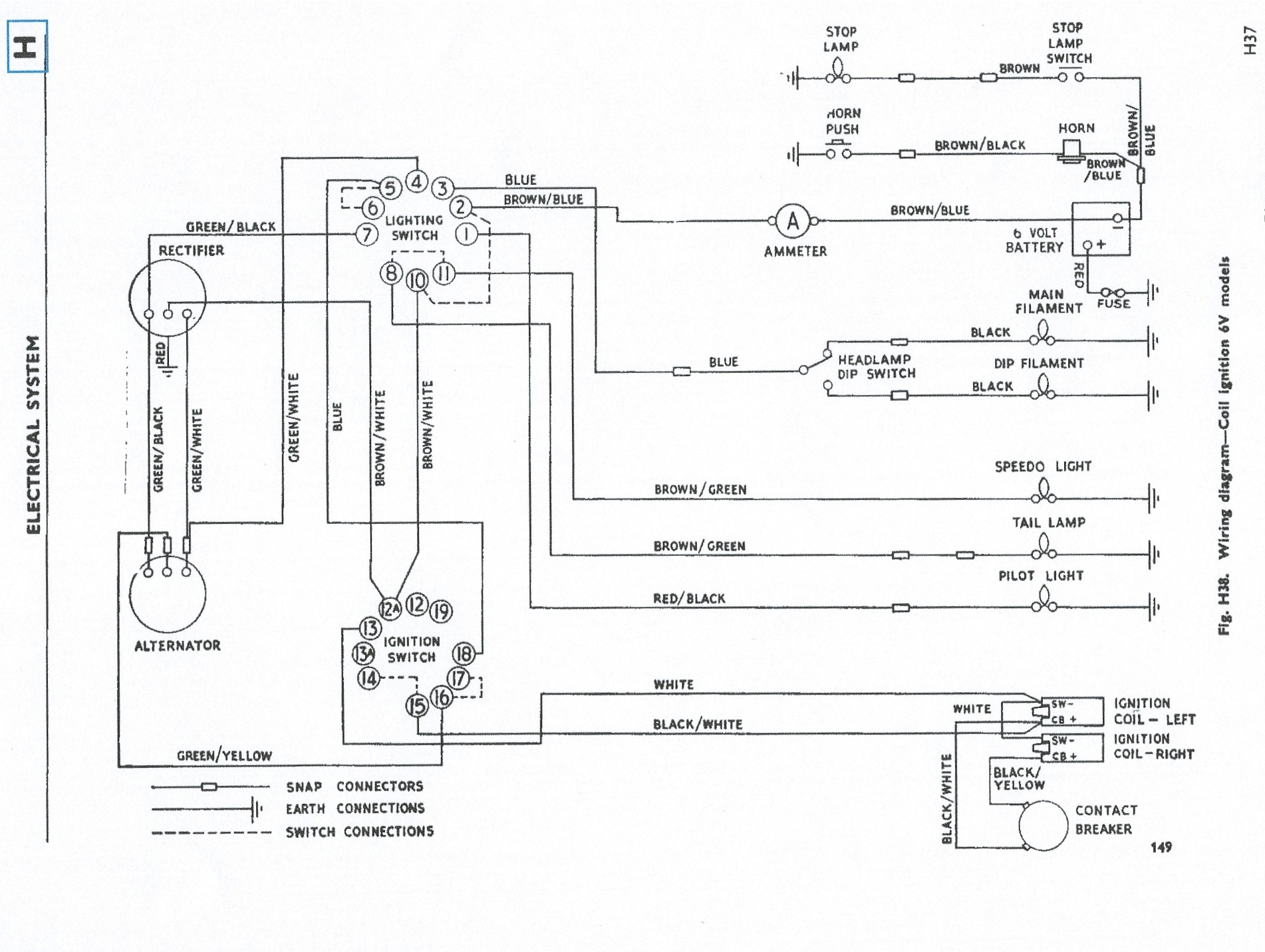Triumph 650 Wiring Diagram Ipocartercouk \u2022rhipocartercouk: Triumph Tiger Wiring Diagram At Gmaili.net