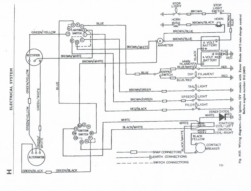 triumph wiring diagram triumph image wiring terry macdonald on triumph 650 wiring diagram