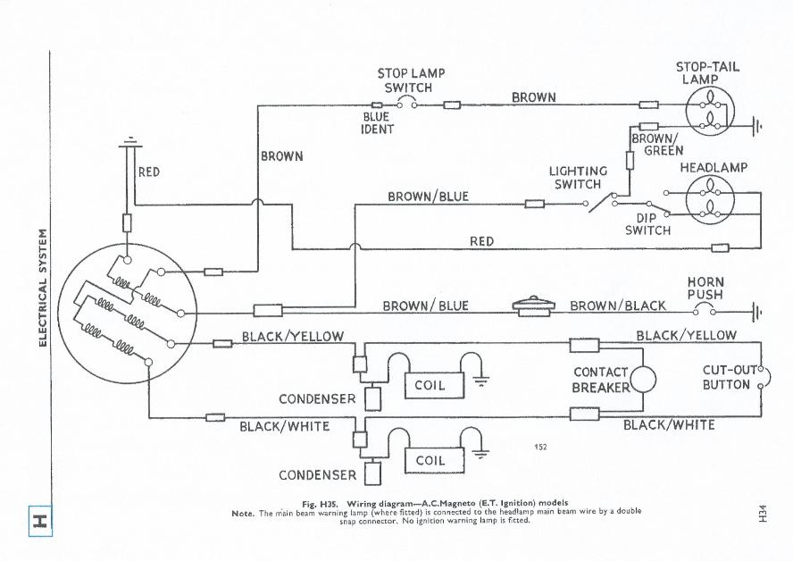 1968 650 bonneville triumph wiring diagram triumph bonneville headlight wiring diagram